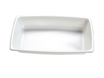 Entree Dish Disposable Rectangular High Heat, White (1000 per case) - A44