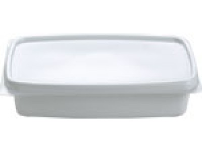 Bowl Disposable Rectangular Casserole, White (1000 per case) - B11