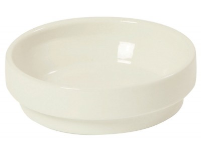 Bowl Ceramic 8 oz, High Heat, White (24 per case) - J550
