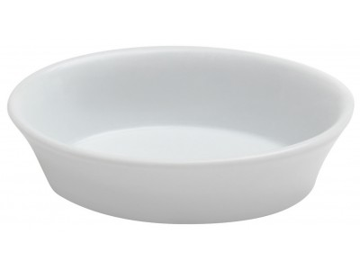 TOP SELLER! Bowl China Casserole, 6 oz Bright White (36 per case) - J707