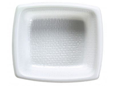 Side Dish Disposable Rectangular, White (6000 per case) - A09A