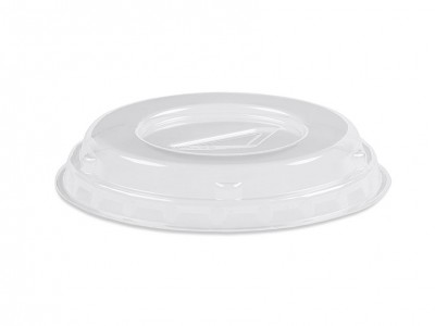 Disposable, Low Profile, Non-Vented, Clear Lid (1000 per case) - ADL39C