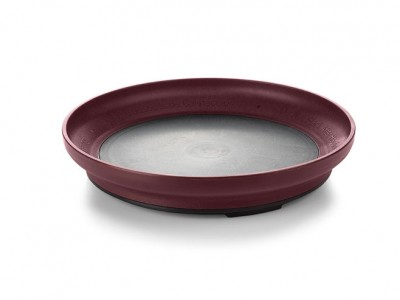 "Base Heat On Demand Advantage® 9"" Entree, Burgundy (12 per case) - IHB26B"