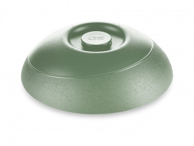 "Dome Allure® Insulated 9"" Entree, Sage (12 per case) - ALD180"