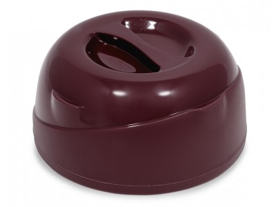 Allure® Insulated Soup Dome, Burgundy (24 per case) - ALSD101