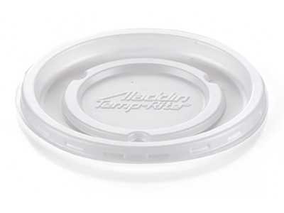 B71 Disposable Round Vented Lid, white