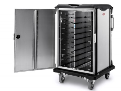 """Convect-Rite® Mini Cart, 20 Meal, Flat Tray, 3.6"""" Tray Spacing - CR3C20002010"""