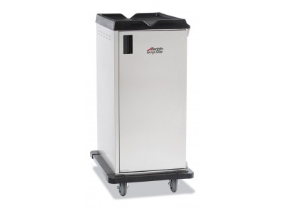 "Premium Meal Delivery Cart, 20-Tray Capacity, Side Load, Single Door  with 4.5"" Spacing"