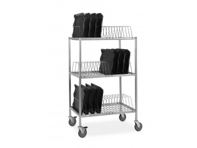 Room Service Tray Drying/Transport Rack - RSTDR54