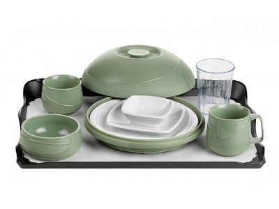 Allure® Sage Tray Setting