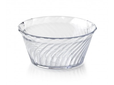 8-oz Clear Swirl Bowl (48 per case) - SC200