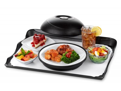 "TOP SELLER! Entree Dish China Square 9"", Presentation® Design, White (24 per case) - J100"