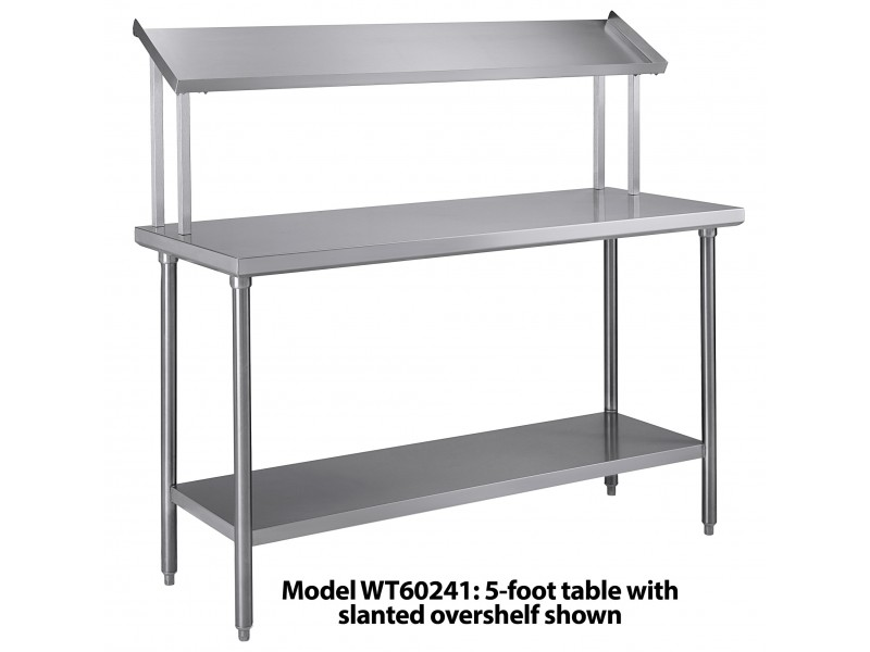 Tray Assembly Table 48 Quot X24 Quot Stainless Steel With Slanted