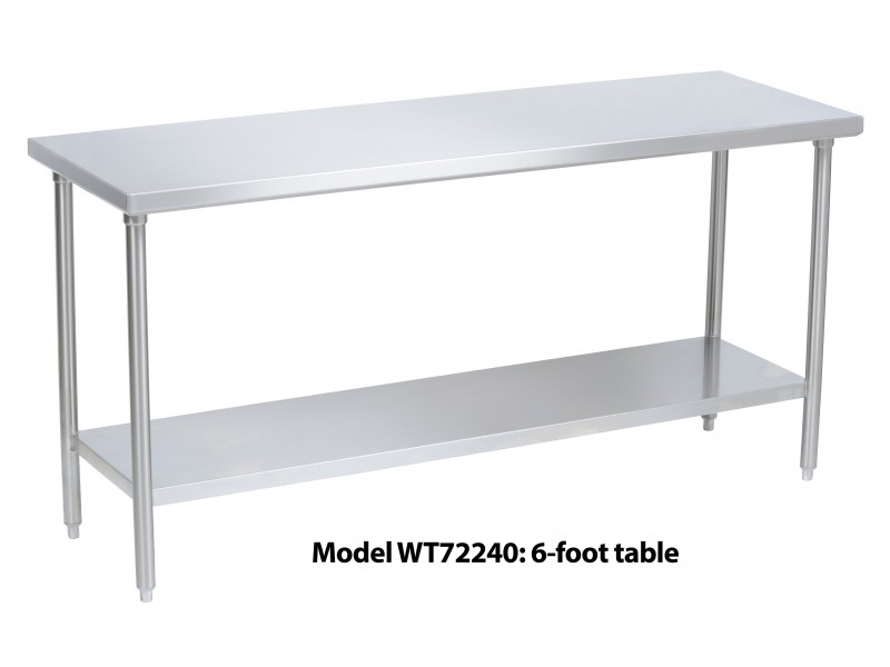 Stainless Steel Work Table X WT - 24 x 48 stainless steel work table