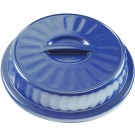 "Dome Dimensions® 8"" Entree High Heat, Evening Blue (48 per case) - DM102E"