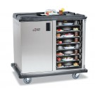 """Premium Meal Delivery Cart, 32 Tray Capacity, Side Load Double Door, 4.5"""" Spacing"""