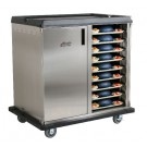 """Premium Meal Delivery Cart, 36 Tray Capacity, Side Load Double Door. 4.5"""" Spacing"""