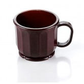 Mug Dimensions® 8 oz High Heat, Burgundy (48 per case) - DM105B