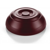 Dome Heat On Demand On Tray® Insulated Entree, Burgundy (12 per case) - IHTD26B