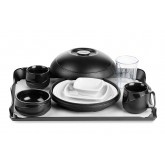 Allure® Black Tray Setting