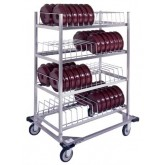 Convect-Rite Dome Storage Rack,  Capacity 104 - CR3DR104