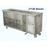 J713 Series Slim Line Cold Food Counters,  2 - 3 Wells