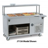 J713 Series Cold Food Counters, 3 - 5 Wells