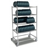 Plastic-Coated Wire Rack For Heat On Demand On Tray®  System-J82EPL