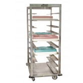 Denesting Cart, 20 capacity, Stainless Steel - L04S