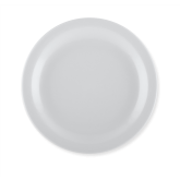 "NEW! 9"" NARROW RIM Bright White China Entrée Plate  (24 per case) - D900"