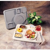 Cover for Century II Insulated Tray, Mauve/Ivory (10 per case) - T445P