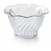 Swirl Bowl 5 oz, Clear (48 per case) - SC100