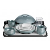 Allure® Sea Mist Tray Setting