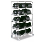 NEW! Storage Rack for bases, domes or insulated trays including 10 Wash Racks - SR100