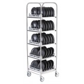 NEW! Storage Rack for bases, domes or insulated trays including 5 Wash Racks - SR50