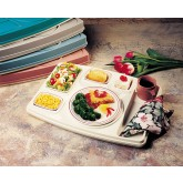 Cover for Century I Insulated Tray, Gray/Ivory (10 per case) - T457P