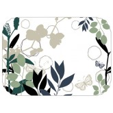 "TOP SELLER! 15"" x 20"" Organic Blooms Tray Cover (1,000 per case) - TCA22"