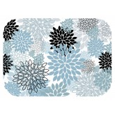 "TOP SELLER! 15"" x 20"" Sea Flowers Tray Cover (1,000 per case) - TCA28"
