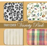 "15"" x 20"" Tray Cover Variety Pack (1,000 per case) - TCAVR01"
