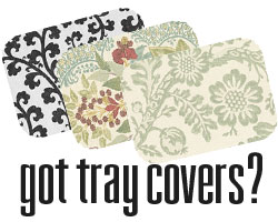Choose from Aladdin's wide variety of tray cover styles