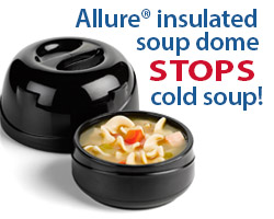 Allure Soup dome for home page