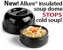 Allure insulated soup dome