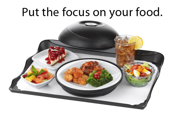 Put the focus on your food