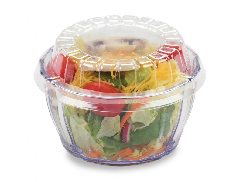 Dimensions® Clear 12-oz  Round Bowl - Cold Only (80 per case